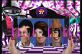 Twisted: The Game Show 3DO Slider puzzle game. Match three faces.