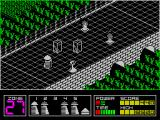 Highway Encounter ZX Spectrum In a later game I left the convoy parked behind an obstacle in zone 29 and went on ahead to clear the way