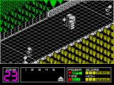 Highway Encounter ZX Spectrum Game over. From here the game returns to the title screen. Not sure if there's a high score screen - if there is then I just didn't score enough to register