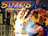 Streets of Rage Remake Windows Title screen (2011 version)