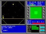 Tau Ceti ZX Spectrum The LAUNCH command actually starts the game. The planet surface is gradually revealed in an expanding diamond window. When this is fully displayed the radar kicks in