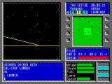 Tau Ceti ZX Spectrum Whatever it is its firing at me. Neither the enemy fire nor our own is especially accurate.....