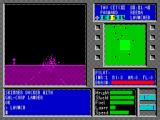 Tau Ceti ZX Spectrum Somehow a destroyed tower does not look as impressive in infra red