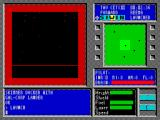 Tau Ceti ZX Spectrum ... and also indestructible. A collision was inevitable. This triggers a 'Game Over' sequence where the main window cycles through bright colours while the central black area gets smaller