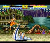 Fatal Fury 2 SNES Martial arts battle: Joe Higashi vs. Kim Kaphwan