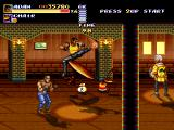 Streets of Rage Remake Windows Playing with the high quality resolution (2011 version)