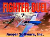 Fighter Duel DOS Title