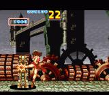 Fatal Fury 2 SNES Bonus Stage: destroy as many stone pillars as possible in 30 seconds