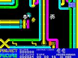 Project Future ZX Spectrum Another game and this time Farley has made it into a corridor