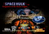 Space Hulk: Vengeance of the Blood Angels SEGA Saturn Title screen