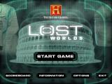 The History Channel: Lost Worlds Windows Main menu