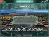 The History Channel: Lost Worlds Windows In the first puzzle, you must spot the differences between two pictures.