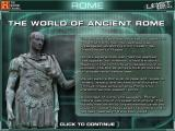 The History Channel: Lost Worlds Windows Introduction to the Ancient Rome world.