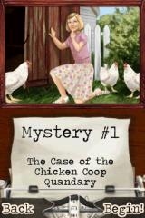 American Girl: Kit Mystery Challenge Nintendo DS Your first mystery. Egg-citing, isn't it?
