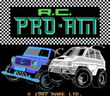 R.C. Pro-Am NES Title screen