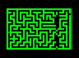 TRON: Journey to the MCP Commodore PET/CBM A distortion at the other side of the maze