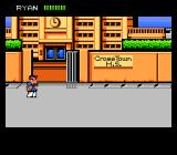 River City Ransom NES Starting the game