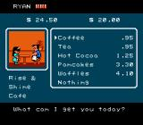 River City Ransom NES Cup of coffee?