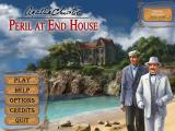 Agatha Christie: Peril at End House Macintosh Title / main menu