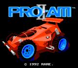 R.C. Pro-Am II NES Title screen