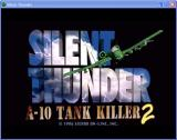 Silent Thunder: A-10 Tank Killer II Windows Title of the game