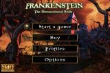 Frankenstein: The Dismembered Bride iPhone Title / main menu (free version)