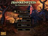 Frankenstein: The Dismembered Bride Macintosh Title / main menu