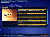 Homeworld 2 Windows The singleplayer mission select screen