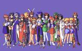 Eiyū Shigan: Gal Act Heroism PC-98 Group photo! :)