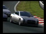 Gran Turismo Concept: 2001 Tokyo PlayStation 2 The Nissan GT-R Concept in Midfield.
