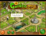 Gardenscapes Macintosh Main menu - the garden