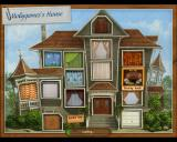 Gardenscapes Macintosh Room locations map - Mobygames house