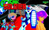 Cosmic Soldier PC-88 Title screen