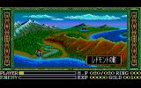 Ys III: Wanderers from Ys PC-88 Map