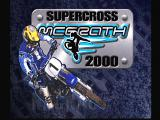 Jeremy McGrath Supercross 2000 Dreamcast Title Screen