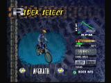 Jeremy McGrath Supercross 2000 Dreamcast Rider Selection