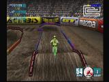 Jeremy McGrath Supercross 2000 Dreamcast Timing the jumps is the key to doing well indoors.