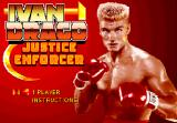 Ivan Drago! Browser The title screen.