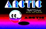 Arctic PC-88 Title screen