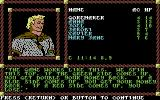Pool of Radiance Commodore 64 A game of chance in a tavern.
