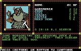 Pool of Radiance Commodore 64 Some hobgoblins are due to be relieved of their gold.
