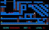 Championship Lode Runner PC-88 Close to completion... many treasures collected