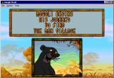 Disney's The Jungle Book Windows The story is told (Double Size)