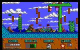 Cosmo's Cosmic Adventure: Forbidden Planet DOS ka-boom screen