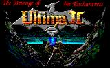 Ultima II: The Revenge of the Enchantress... PC-88 Pony Canyon re-release: title screen
