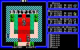 Exodus: Ultima III PC-88 LB in his fancy throne room. They used extra red color :)
