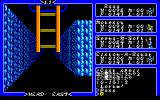 Exodus: Ultima III PC-88 Dungeon exploration: ladder