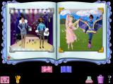 Barbie Beauty Styler Windows Selecting the book icon in the lower right of the designer screen opens Barbies's Beauty Book and saves the players creation into it