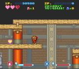 Super Ninja-kun SNES This big heart will increase the health bar