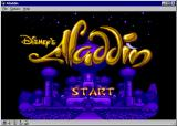 Disney's Aladdin Windows Title Screen (Large size)